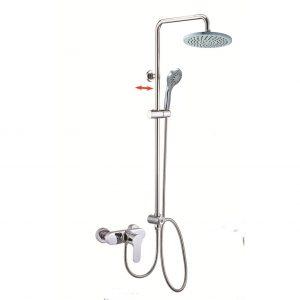 Exposed Mixer Valve Rigid Riser Shower System