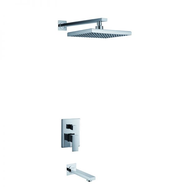 Built in Brass 2 Way Concealed Shower Bath Faucet