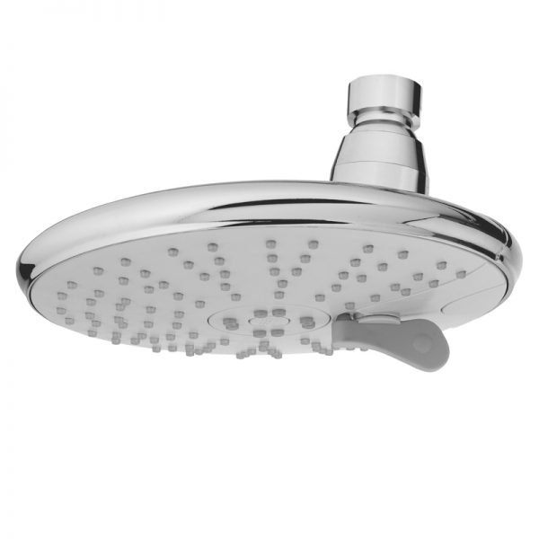 6 Inches Cover ABS Plastic 3 Function Shower Head