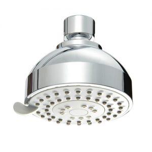 Brass Ball Joint 3 Mode Spray ABS Plastic Shower Head