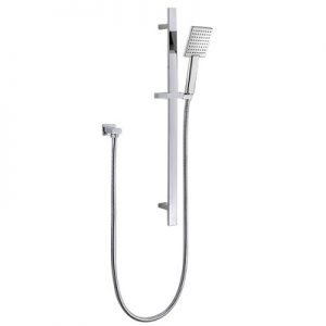 Single Function Hand Shower Stainless Steel Sliding Bar Shower Rail