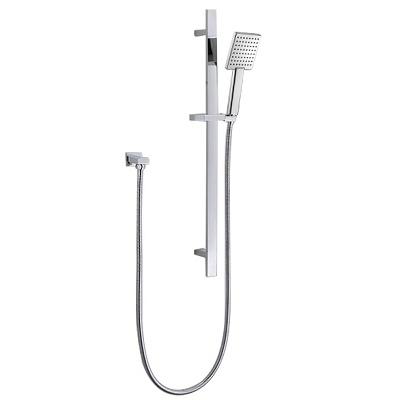 Single Function Hand Shower Stainless Steel Sliding Bar Shower Rail