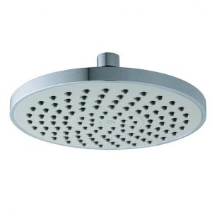 8 Inches Round Light Gray Spray Plate Rain Shower