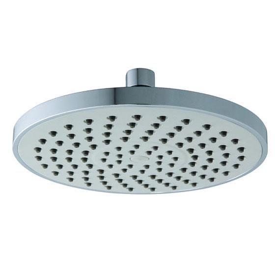 8 Inches Round Light Gray Spray Plate Rain Shower