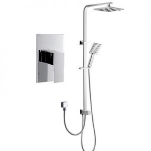 Built in Shower Faucet Rigid Shower Rail Kit