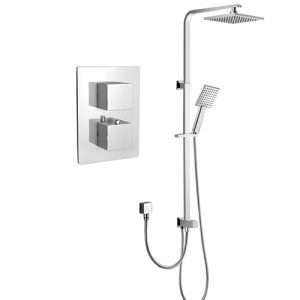 Concealed In Wall Thermostatic Mixing Shower Valve Shower Column