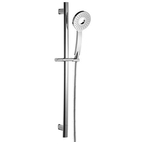 Singular Function Hand Shower Stainless Steel Slide Shower Rail