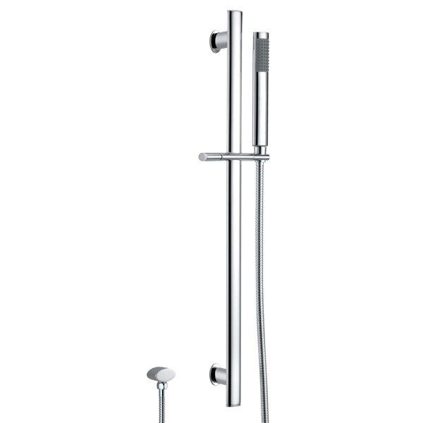 Oval Handheld Shower Slide Shower Rail Kit
