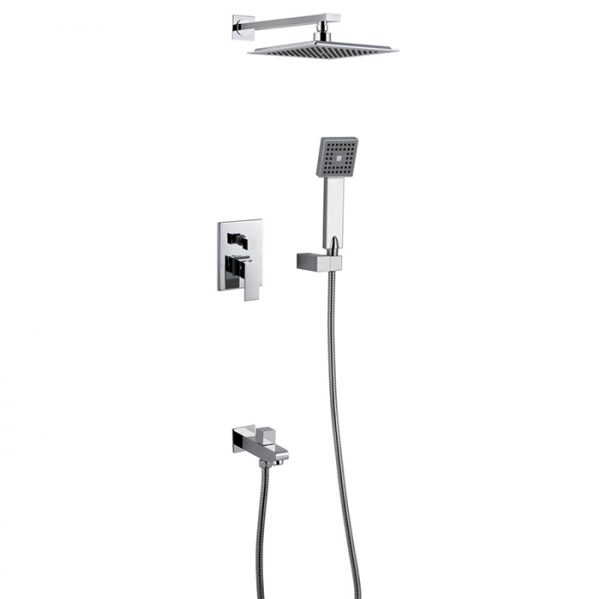 Built in Brass 3 Way Bath Shower Faucet