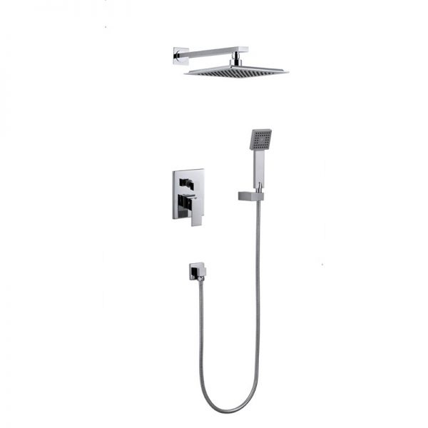 Built in Brass 2 Way Concealed Shower Faucet