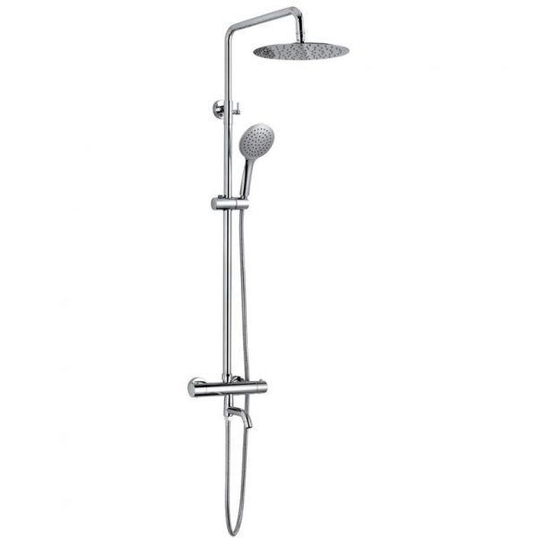 1 Way Hand Shower SUS304 Stainless Steel Fix Shower Thermostatic Shower