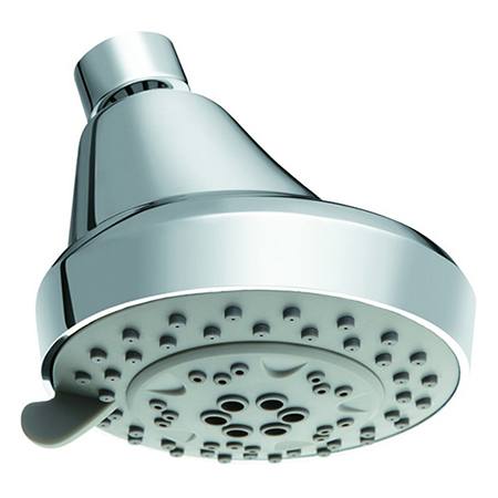 High Pressure Water Saving ABS plastic 5 Function Shower Head