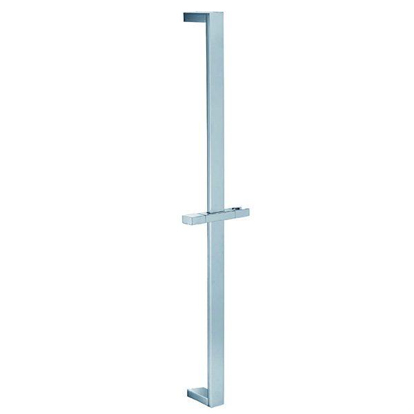Brass Flat Sliding Shower Bar