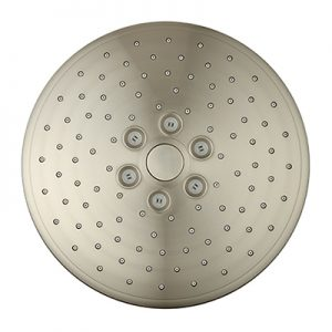 3 Way Brushed Nickel Touch Switch 10 Inches Round Rain Shower
