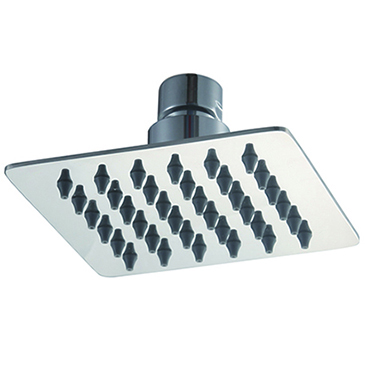 6 Inches Square 304 Stainless Steel Rain Shower
