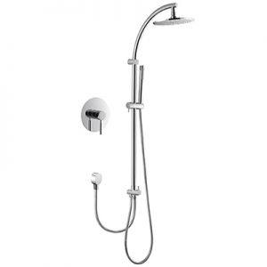 Built in Manual Shower Faucet Brass Shower Pole