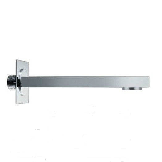CP Square brass shower spout