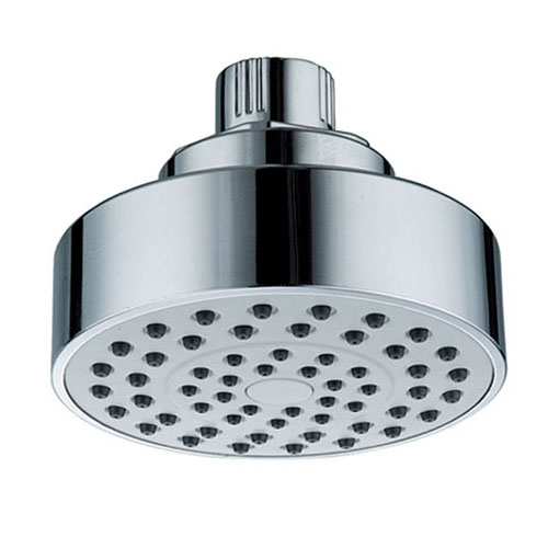 4 Inches One Way ABS Plastic Chrome Plated Shower Head