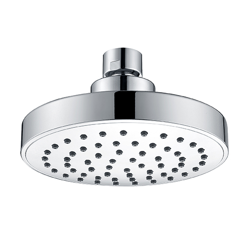 Water Efficient 5 Inches Diameter Chrome plated Spray Plate High Pressure Shower Head