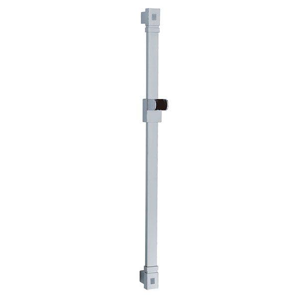Wall Mounted ABS Plastic Bracket Stainless Steel Flat Tube Slide Shower Rail