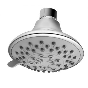 ABS Plastic 5 Way Spray Function Shower Head