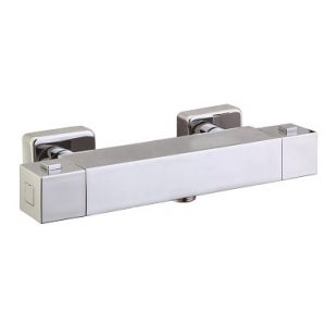 Wall Mounted Square Thermostatic Shower