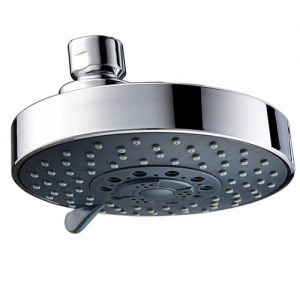 ABS Plastic 4 Way Spray Plus Trickle 5 Function Shower Head