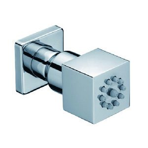 Square Brass Shower Spray