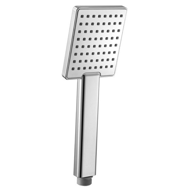 All Chrome Square One Function Hand shower