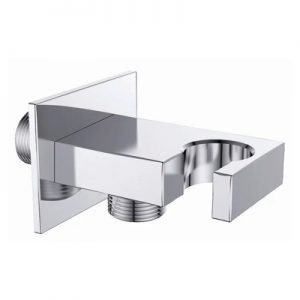 SE2021 Flat Brass Shower Holder