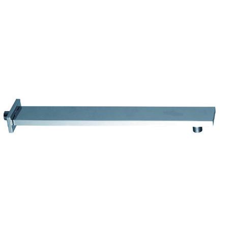 CP Square brass shower arm 60X15X1.0X450mm
