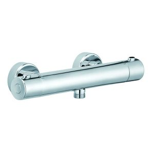 Wall Mounted Round Thermostatic Shower