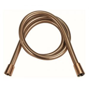 Easy cleaning PVC Rose Gold Color Shower Hose