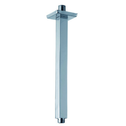 Ceiling Mounted CP Square Brass Shower Arm