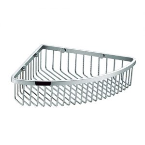 SUS304 Stainless steel Bathroom Corner Shower Basket