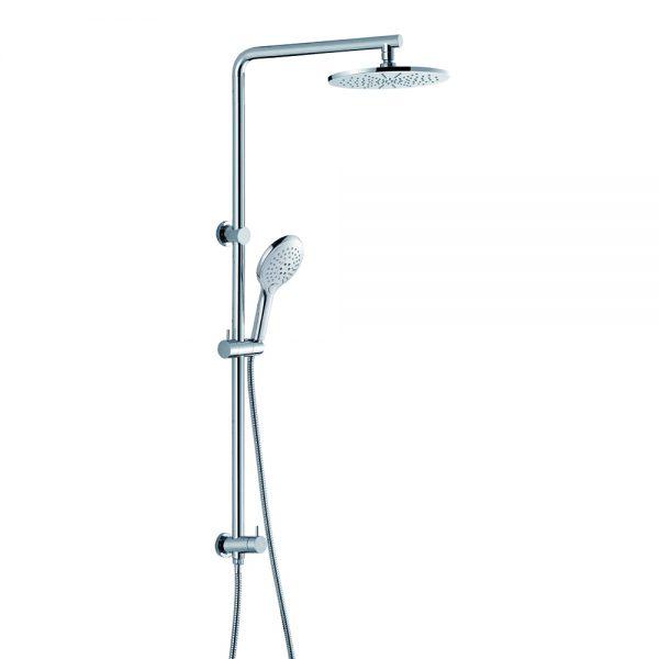 3 Way Hand Shower Brass Rain Shower Brass Round Shower Column