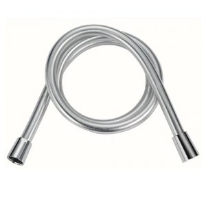 Easy cleaning Silver PVC Plastic Shower Hose