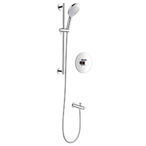 Concealed Shower Faucet Sliding Shower Rail Kit