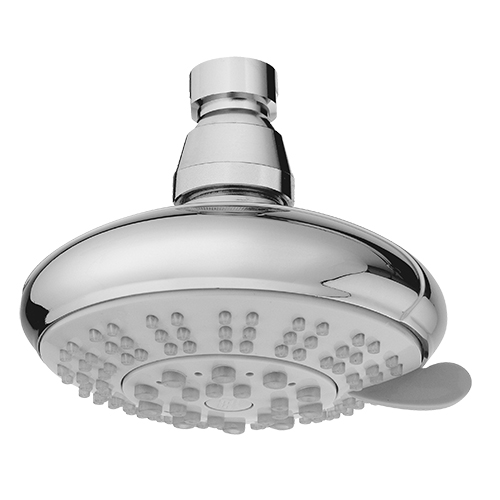 5 Function ABS Plastic 4 Inches Shower Head