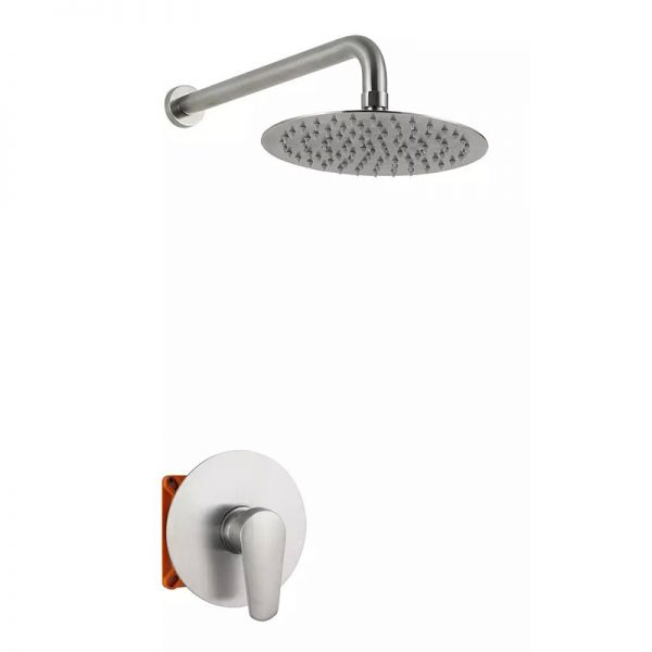 Stainless Steel 1 Function Concealed Valve Shower Mixer
