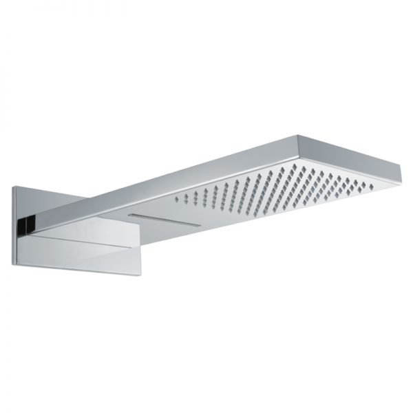 2 Function Rain Fall and Cascade Stainless Steel Rain Shower