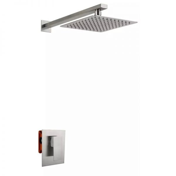 Concealed Shower Mixer:SUS304 stainless steel material,with installation box