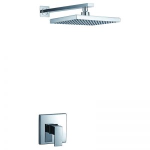 W Built in Brass 1 Way Concealed Shower Faucet