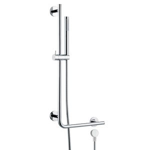 Brass Hand Rail Sliding Bar Shower Kit