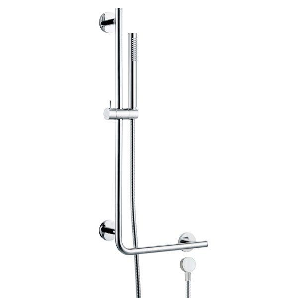 Brass Hand Rail Sliding Bar Shower Kit