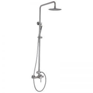 SUS304 Stainless Steel Shower Mixer Shower Column.This shower set is SUS304 stainless steel water way construction.We provide 15 years warranty.