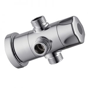 ABS Plastic Shower Column Water Diverter