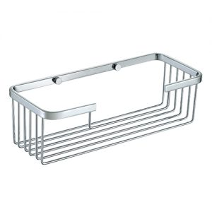 SUS304 Stainless steel Bathroom Rectangular Shower Basket