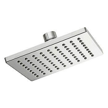 6 Inches Square All chrome plated Rain Fall Shower Head