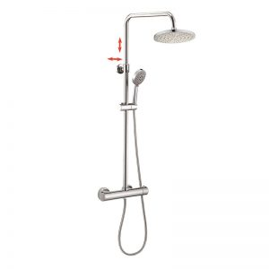 Euro Standard 5 Way Hand Shower Thermostatic Shower